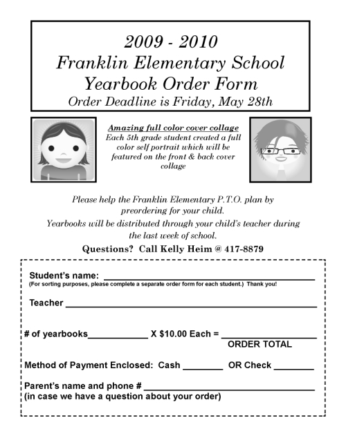 Order your Franklin 2009/2010 Yearbooks! | Franklin ...